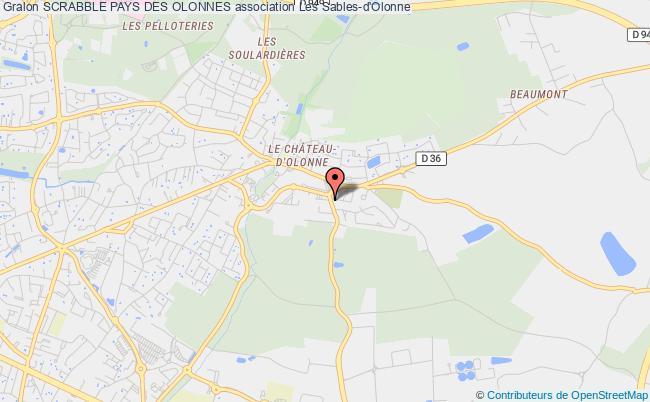 plan association Scrabble Pays Des Olonnes Château-d'Olonne