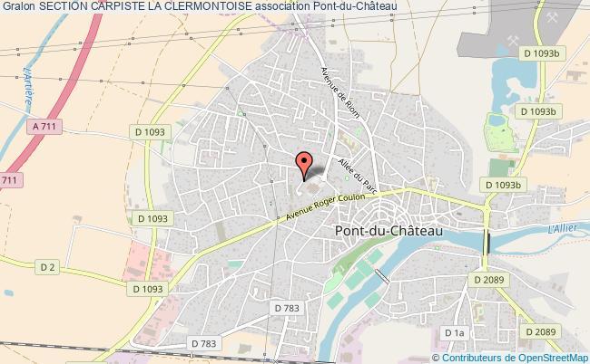 plan association Section Carpiste La Clermontoise