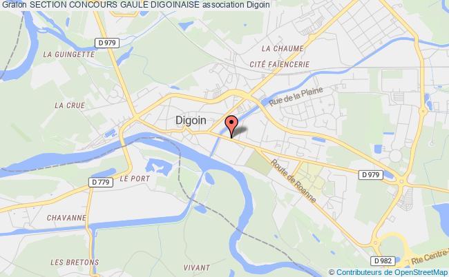 plan association Section Concours Gaule Digoinaise