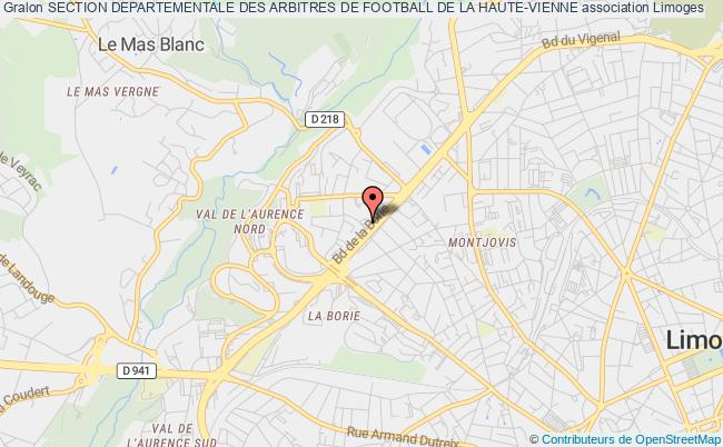 SECTION DEPARTEMENTALE DES ARBITRES DE FOOTBALL DE LA HAUTE-VIENNE
