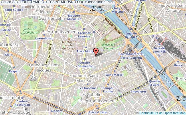 plan association Section Olympique Saint Medard Sosm