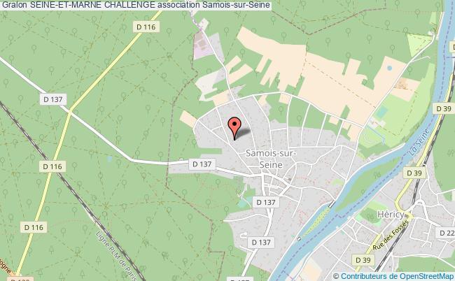 plan association Seine-et-marne Challenge Samois-sur-Seine