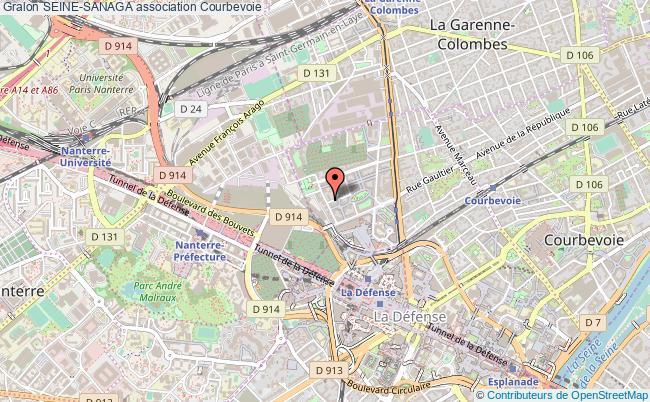 plan association Seine-sanaga Courbevoie