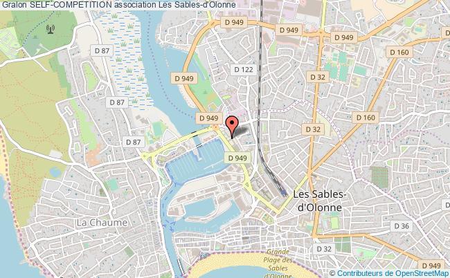 plan association Self-competition Les   Sables-d'Olonne