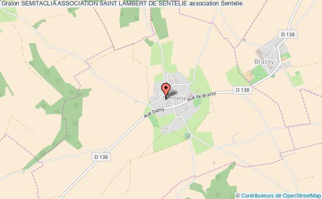 plan association Semitaclia Association Saint Lambert De Sentelie