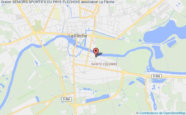 plan association Seniors Sportifs Du Pays Flechois