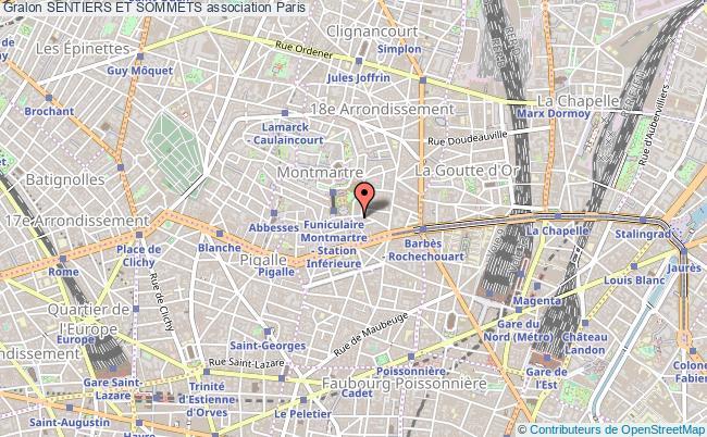 plan association Sentiers Et Sommets