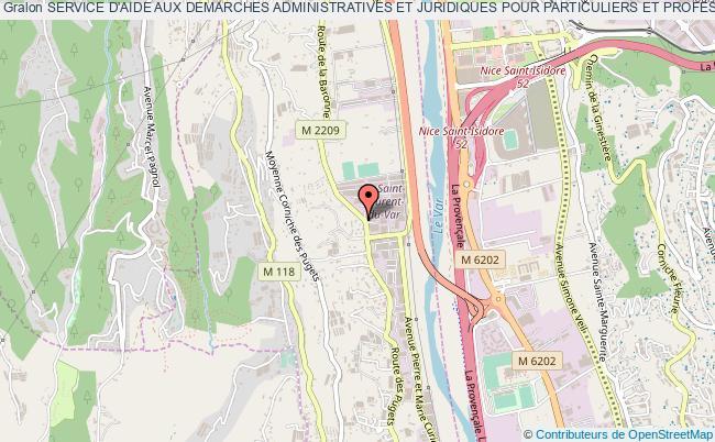 plan association Service D'aide Aux Demarches Administratives Et Juridiques Pour Particuliers Et Professionnels (sadajpp)