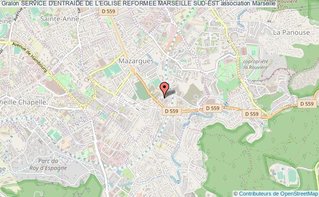 plan association Service D'entraide De L'eglise Reformee Marseille Sud-est