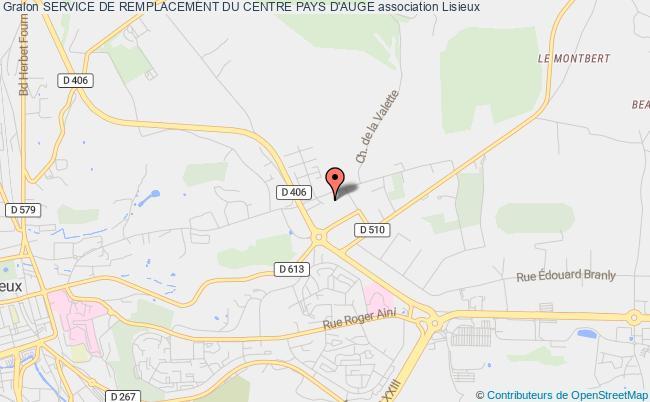 plan association Service De Remplacement Du Centre Pays D'auge