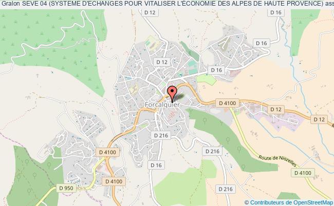 plan association Seve 04 (systeme D'echanges Pour Vitaliser L'Économie Des Alpes De Haute Provence)