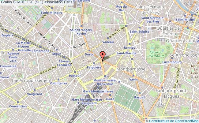 plan association Share It-e (sie) Paris 15e