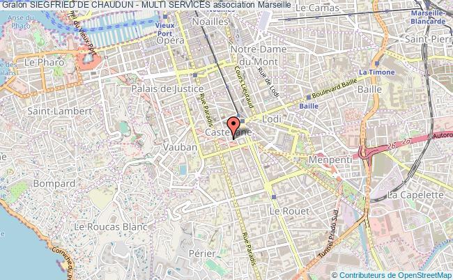 plan association Siegfried De Chaudun - Multi Services