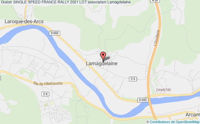plan association Single Speed France Rally 2021 Lot