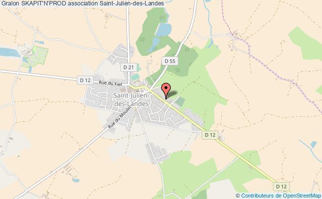 plan association Skapit'n'prod Saint-Julien-des-Landes