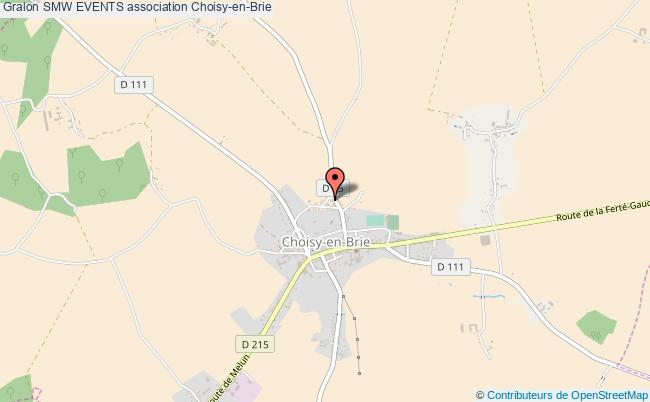 plan association Smw Events Choisy-en-Brie