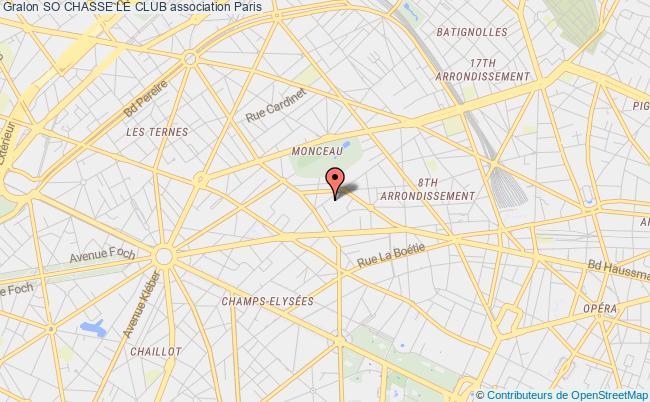 plan association So Chasse Le Club Paris
