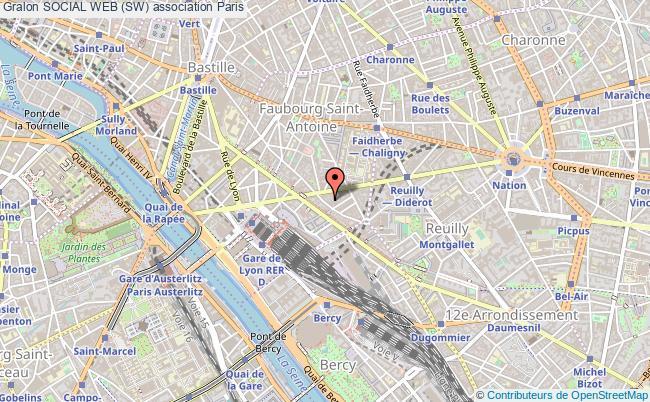 plan association Social Web (sw) Paris