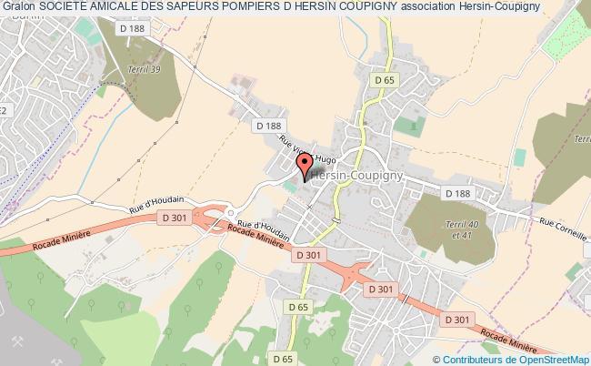plan association Societe Amicale Des Sapeurs Pompiers D Hersin Coupigny