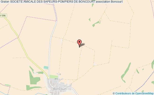 plan association Societe Amicale Des Sapeurs-pompiers De Boncourt
