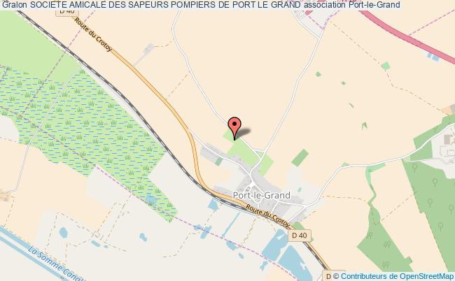 plan association Societe Amicale Des Sapeurs Pompiers De Port Le Grand
