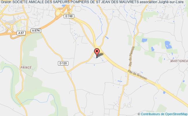 plan association Societe Amicale Des Sapeurs Pompiers De St Jean Des Mauvrets