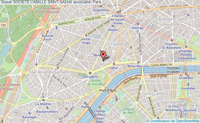 plan association Societe Camille Saint-saens