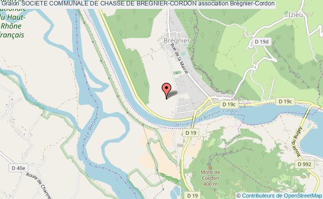 plan association Societe Communale De Chasse De Bregnier-cordon