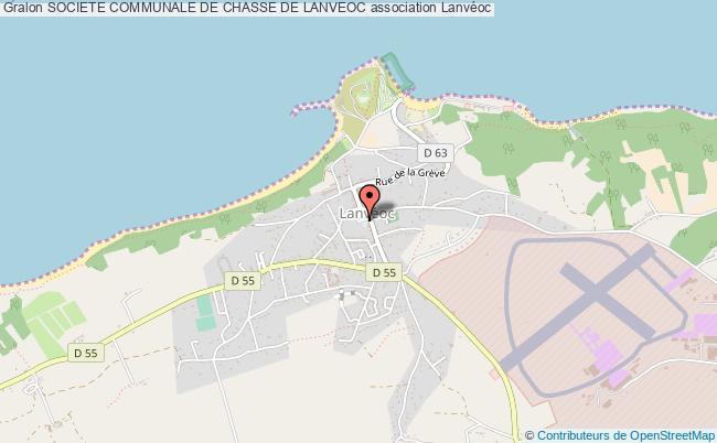 plan association Societe Communale De Chasse De Lanveoc