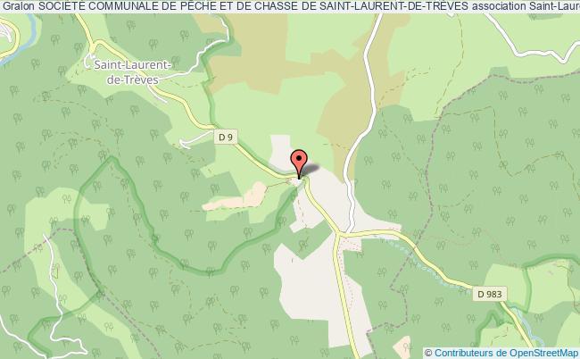 plan association SociÉtÉ Communale De PÊche Et De Chasse De Saint-laurent-de-trÈves Saint-Laurent-de-Trèves
