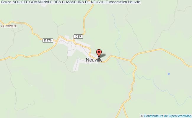 plan association Societe Communale Des Chasseurs De Neuville