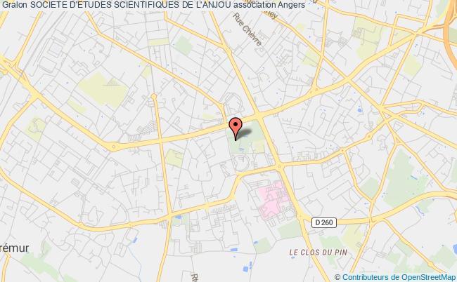plan association Societe D'etudes Scientifiques De L'anjou Angers