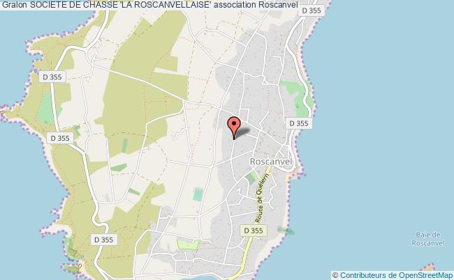 plan association Societe De Chasse 'la Roscanvellaise'