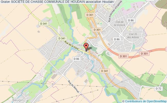plan association SociÉtÉ De Chasse Communale De Houdain