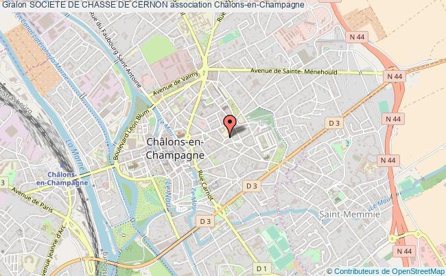 plan association Societe De Chasse De Cernon