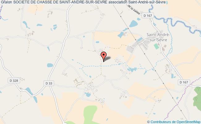 plan association Societe De Chasse De Saint-andre-sur-sevre