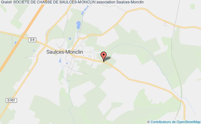 plan association Societe De Chasse De Saulces-monclin