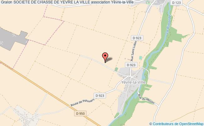 plan association Societe De Chasse De Yevre La Ville