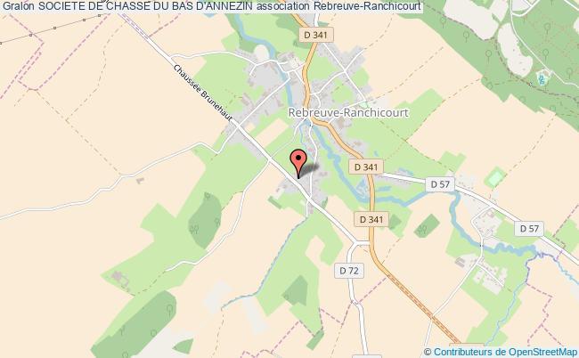 plan association Societe De Chasse Du Bas D'annezin