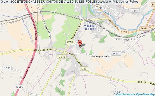 plan association Societe De Chasse Du Canton De Villedieu Les Poeles Villedieu-les-Poêles