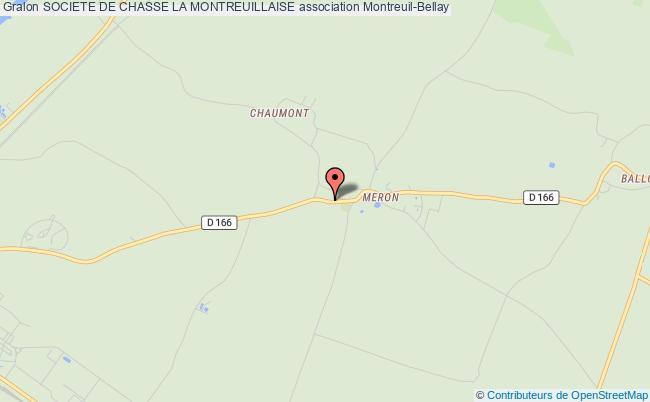 plan association Societe De Chasse La Montreuillaise Montreuil-Bellay