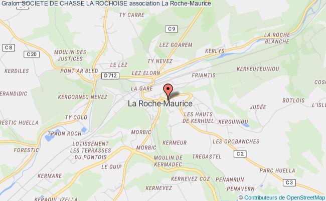 plan association Societe De Chasse La Rochoise