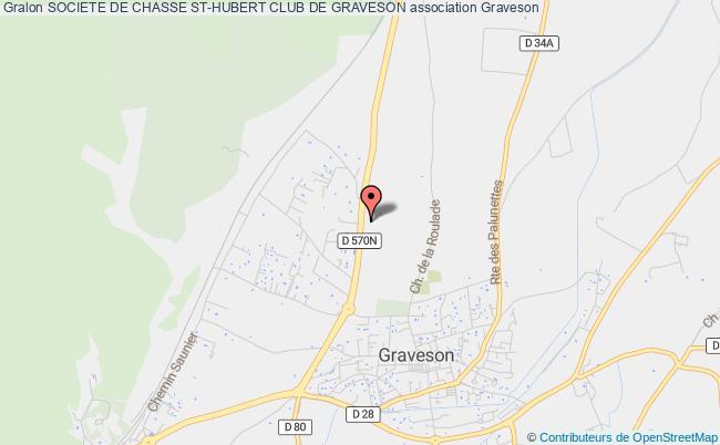 plan association Societe De Chasse St-hubert Club De Graveson