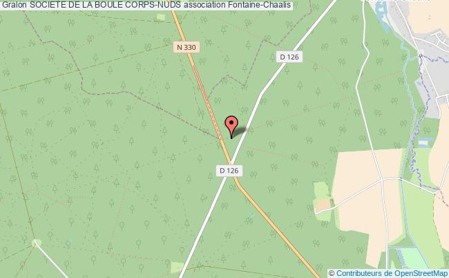 plan association Societe De La Boule Corps-nuds Fontaine-Chaalis