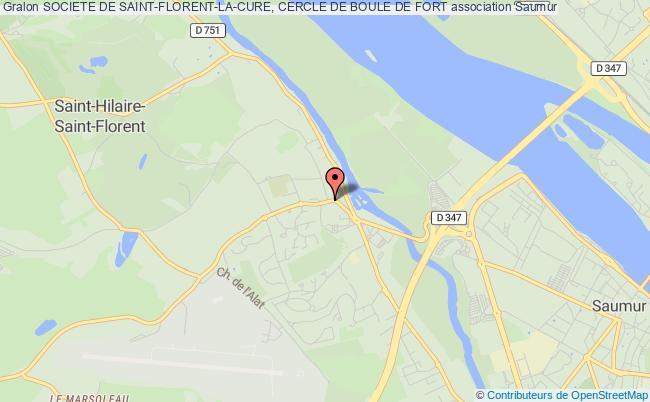 plan association Societe De Saint-florent-la-cure, Cercle De Boule De Fort