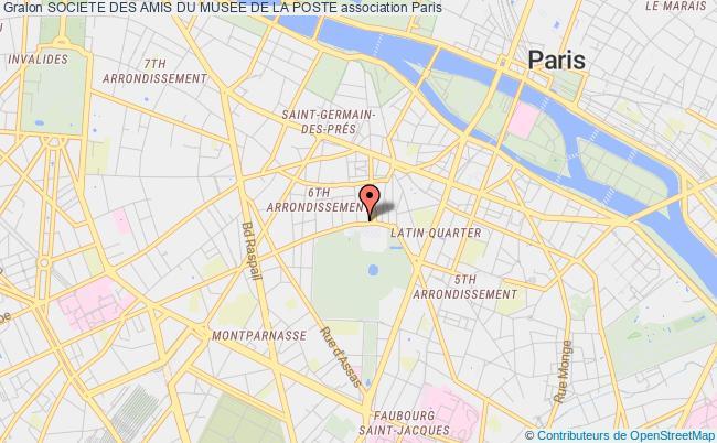 plan association Societe Des Amis Du Musee De La Poste Paris