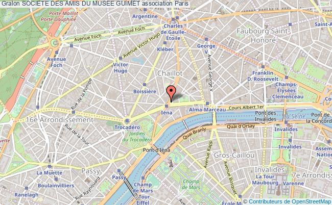 plan association Societe Des Amis Du Musee Guimet