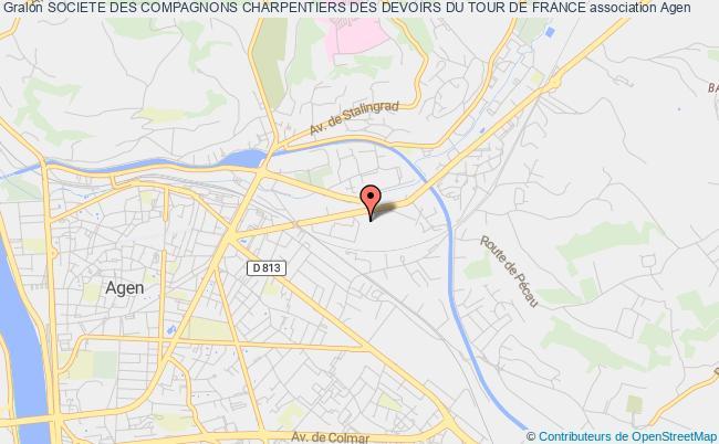 plan association Societe Des Compagnons Charpentiers Des Devoirs Du Tour De France