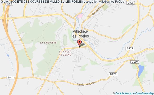 plan association Societe Des Courses De Villedieu Les Poeles Villedieu-les-Poêles