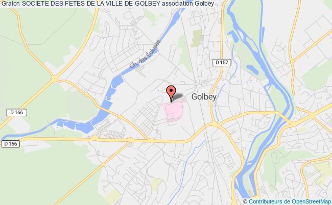 plan association Societe Des Fetes De La Ville De Golbey Golbey